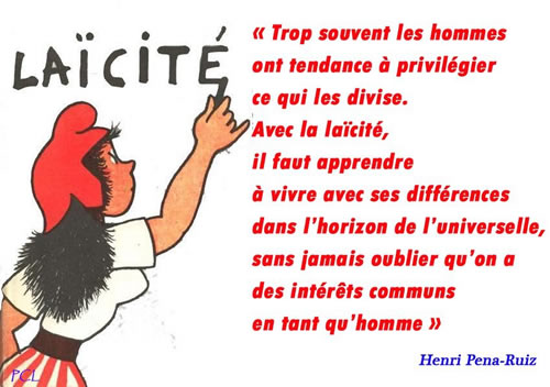 "the concept of laicite in france The concept of laïcité in france the french constitution of 1958 according to the first article of the french constitution: ""france shall be an indivisible, secular, democratic and social republic it shall ensure the equality of all citizens before the law, without distinction of origin, race or religion it shall respect all beliefs."